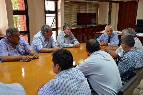 La  reunión se  realizó en la Casa de Gobierno.