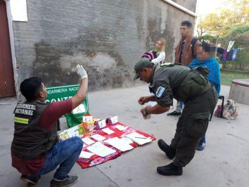 El procedimiento se realizó sobre ruta nacional Nº 16, en las intersecciones a J.V. González y Las Lajitas.