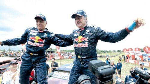 Carlos Sainz, ganó su segundo Dakar.