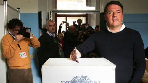 El primer ministro Mateo Renzi. El referendo es clave para su gobierno.