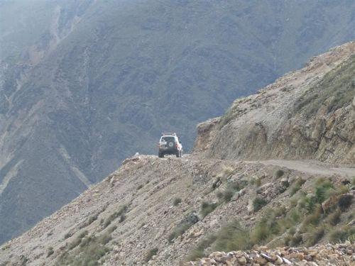 En la ruta 145 cerca de Nazare no ocurrió el fatal accidente.