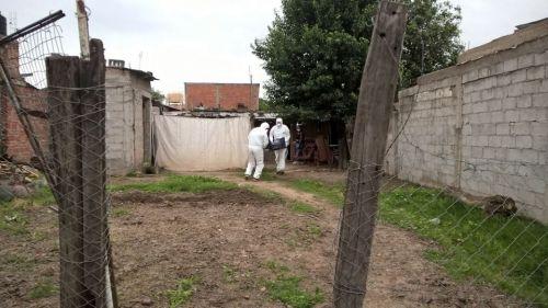 El CIF concurrió a la vivienda de barrio Pablo Saravia a realizar las pericias.