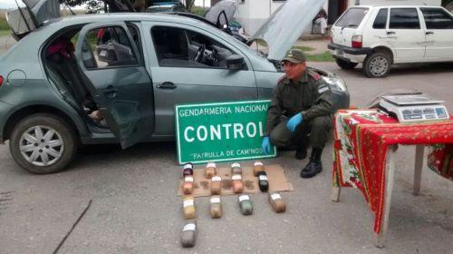 La droga se transportaba en el tanque de combustible