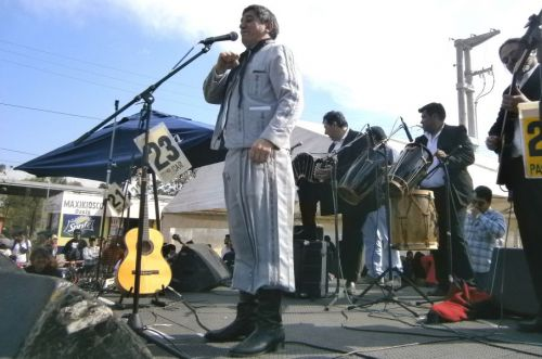 Pitín Salazar, uno de los cantores que subirán al escenario del Festival de la Uva y el Vino Patero en la pintoresca Angastaco.