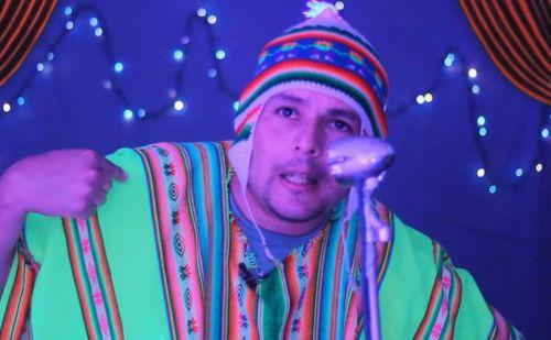 """""""Echenbirra"""", personaje del humorista salteño Luis Quinteros, se presenta este domingo en la carpa """"El Diablo""""."""