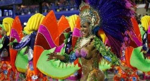 El Sambódromo de Río volverá a deslumbrar al público del mundo durante seis días de los desfiles de las escuelas de samba.