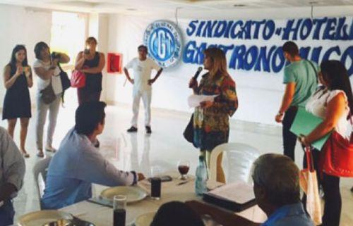 """""""Entendemos que por primera vez se dará en Salta una marcha unificada"""", dijo Marta César, presidenta de la Multisectorial de Mujeres."""