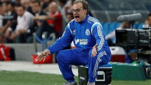 Bielsa durante su paso por el Marsella. En julio  volverá a dirigir en el fútbol francés.