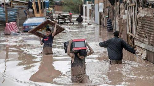Lluvia y logo causa una tragedia en la región norte y centro del Perú, por el fenómeno climatológico El Niño que volvió al país andino.