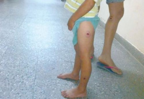 Un nene de 2 años, hijo de un manifestante, había sido baleado en la represión.