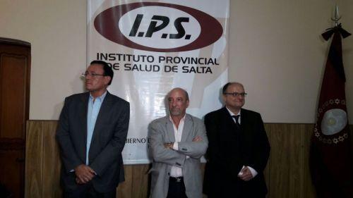Gabriel Chagra Dib, Roque Mascarello y Martíin Baccaro funcionarios por el cambio del IPS.
