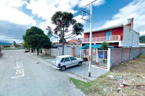 En Las Heras al 3.100 funcionaba el  consultorio clandestino.
