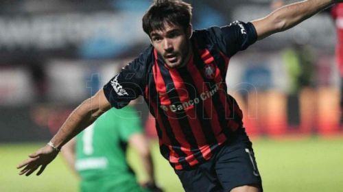 Cerutti, encaminó al Ciclón al Triunfo. Marcó el primer gol.