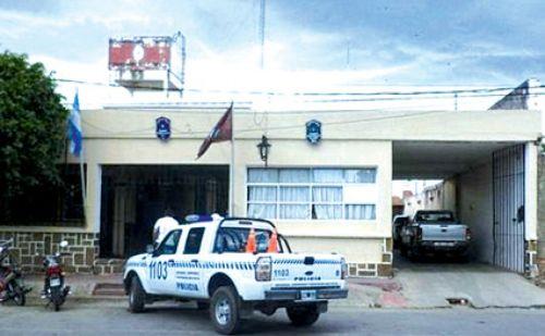 Comisaría 11 de General Güemes, donde no le toman la denuncia sobre violencia de género en el seno familiar.