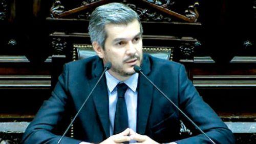 """Nunca nos verán intentando callar una expresión democrática"", dijo Marcos Peña."