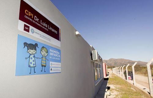 Centro de Primera Infancia en Salta espacios creados para el fortalecimiento social para el desarrollo de los niños.
