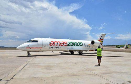 Amaszonas comenzará con los vuelos regulares a partir del 4 de mayo.