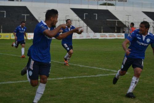Ceratto y Motta en el último festejo del equipo en Chaco.