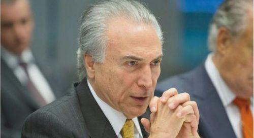 Michel Temer, primer mandatario brasileño