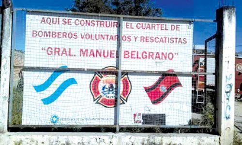 Los bomberos de General Guemes tendrán un terreno en comodato en el predio del Hospital de esa ciudad.