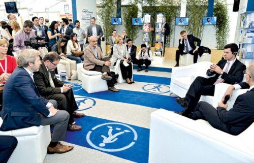 """Conferencia """"BIDiálogo"""" que se efectuó en Quito, Ecuador"""