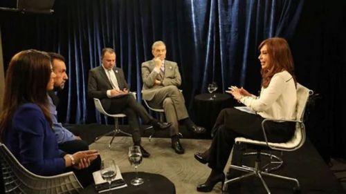 """""""Yo suspendería todas las obras de Odebrecht en la Argentina"""", dijo Cristina Kirchner en el reportaje televisivo."""