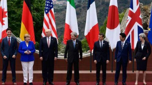 Es la primera participación de Donald Trump en el G7, que se desarrolla en Italia.