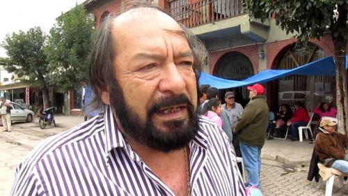 Fermín Hoyos, dirigente municipal de Salvador Mazza