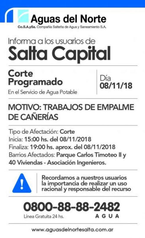 Edictos / Comunicados: GUAS DEL NORTE 2X12.