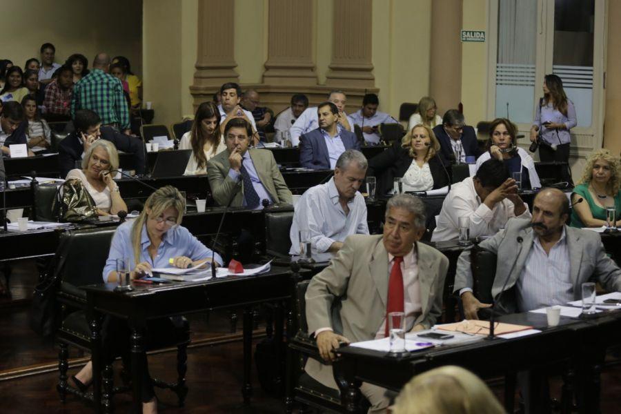 El debate legislativo en la última sesión de la Cámara de Diputados.
