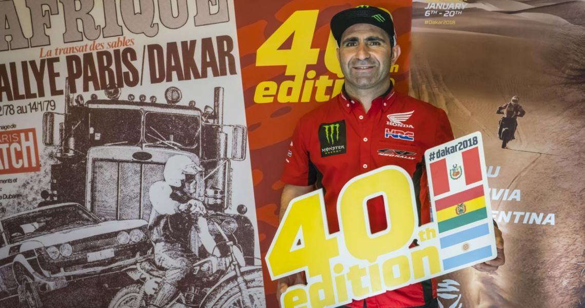 Paulo Gonçalves podría perderse la edición 2018 del Dakar