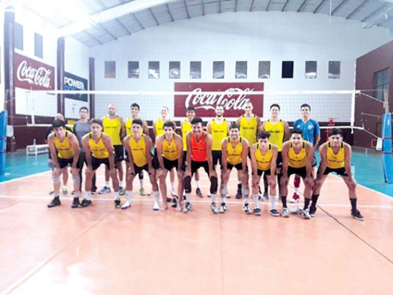 Central Norte debutará mañana en la liga A2 de vóleibol.