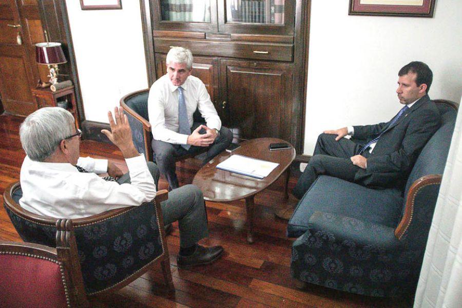 Reunión sobre el tema mecenazgo realizada en la Cámara de Diputados de la Provincia.