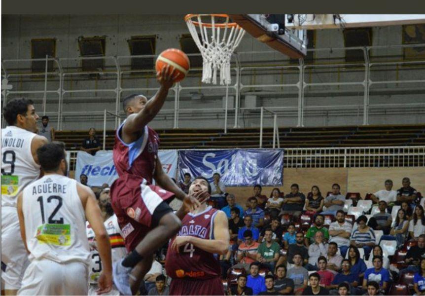 Ricky Harris fue otra vez el goleador de Salta Basket con 17 puntos