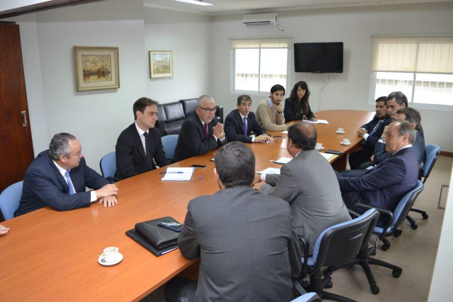 En una reunión se analizó la capacitación internacional en esta ciudad para funcionarios de la Justicia Provincial y Federal.