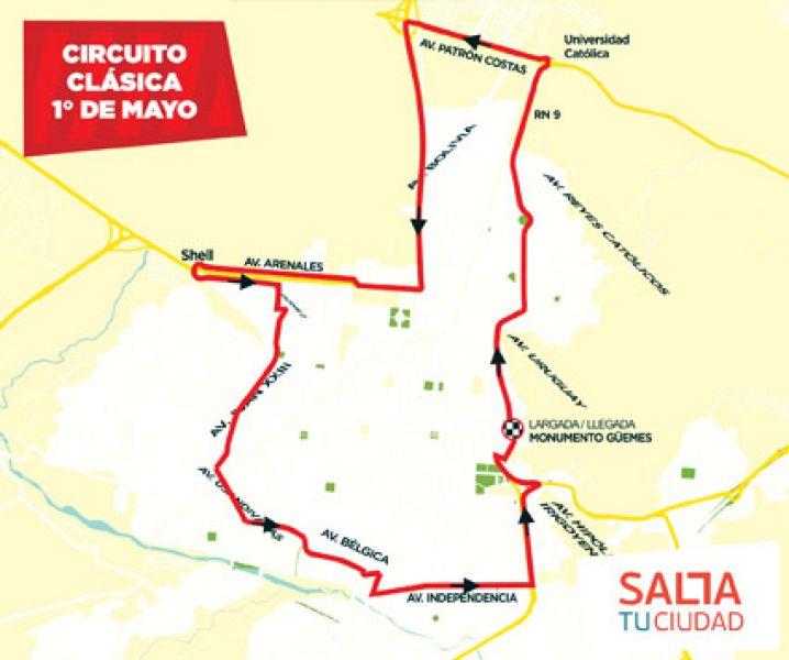 La carrera se podrá seguir en directo desde los celulares a través  de la aplicación Salta Deportes.