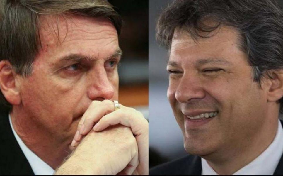 Jair Bolsonaro y Daniel Haddad, diseñan sus estrategias de campaña para la segunda vuelta por la presidencia de Brasil el 28 de octubre.