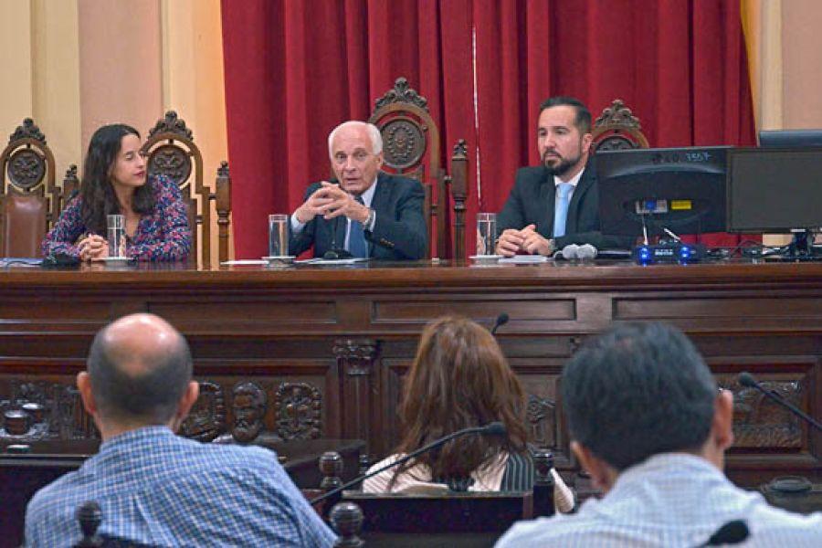 """El Comité """"tendrá acceso irrestricto a todos los lugares de detención"""", anunció el ministro de Gobierno, Justicia y DDHH, Marcelo López Arias."""