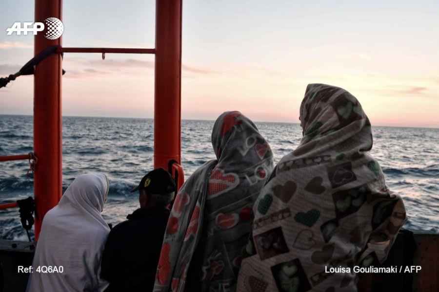 La agencia de la ONU indicó que en septiembre murió una de cada ocho personas que cruzaban el Mar Mediterráneo.