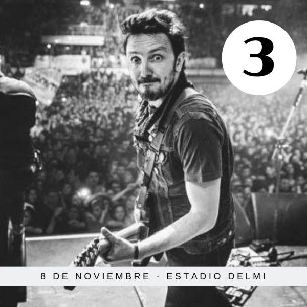 """El cantante Emiliano Brancciari del grupo """"No te va a gustar"""" (NTVG) tuvo un incidente pero la gira continúa. El 8 de noviembre están en Salta."""