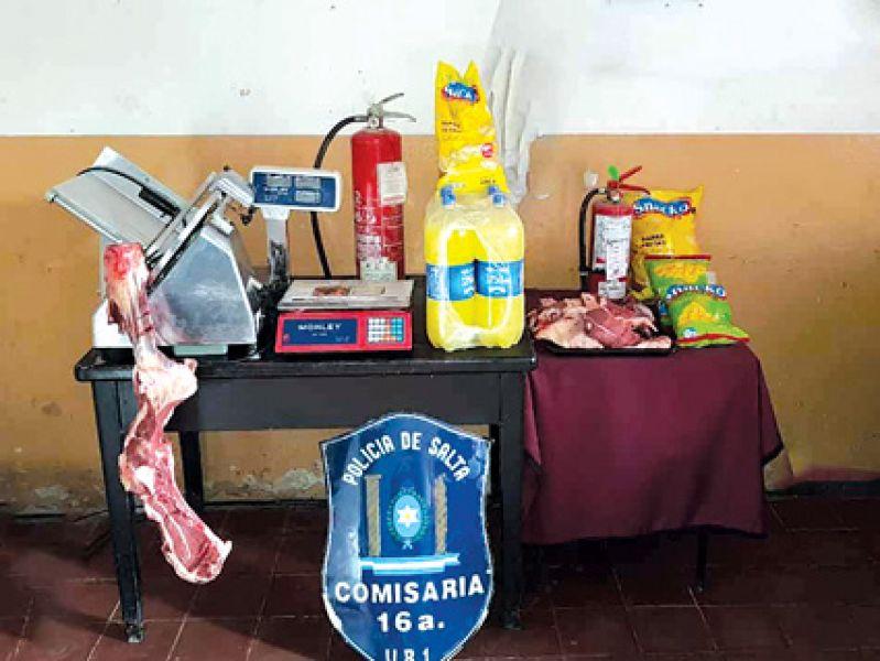 El atraco se produjo en un local comercial ubicado en Campo Santo.