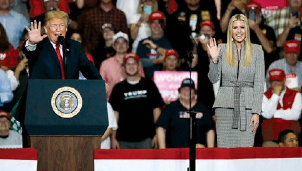 El presidente Trump recorrió todo el país durante la campaña por las elecciones legislativas.