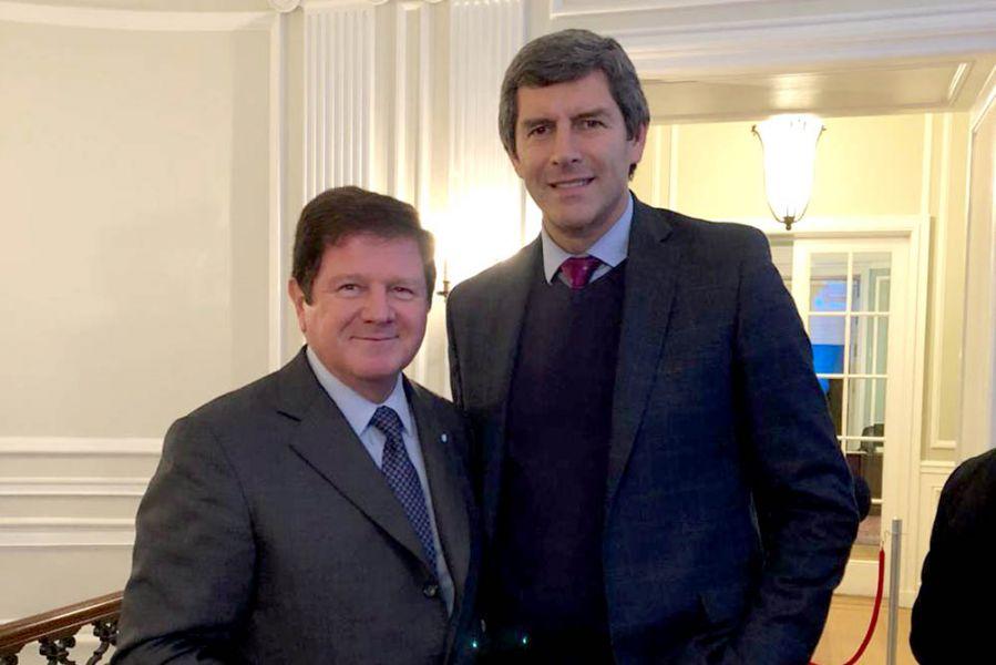 Fernando Oris de Roa, embajador argentino y Fernando Yarade, jefe de Gabinete analizan las elecciones legislativas en EE.UU.