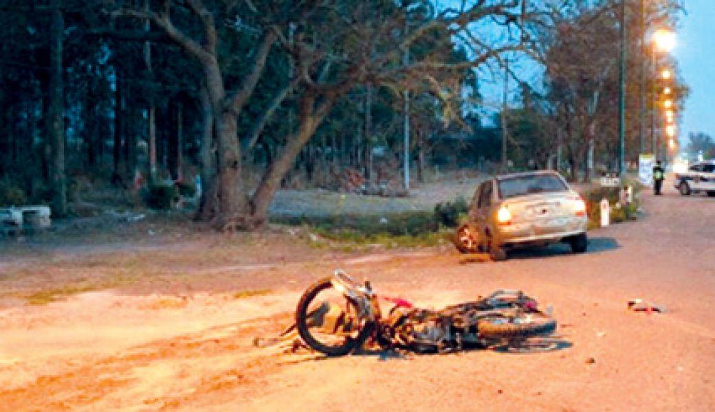 El accidente ocurrió en la ruta nacional 34. La conductora ebria se cruzó de carril y Daniel Yari murió atropellado, luego huyó.