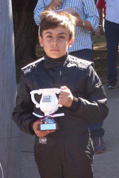 El kartista salteño Francisco Paredes, buscará en Santiago del Estero el subcampeonato de la categoría Micro Max de la Karting National Rotax.
