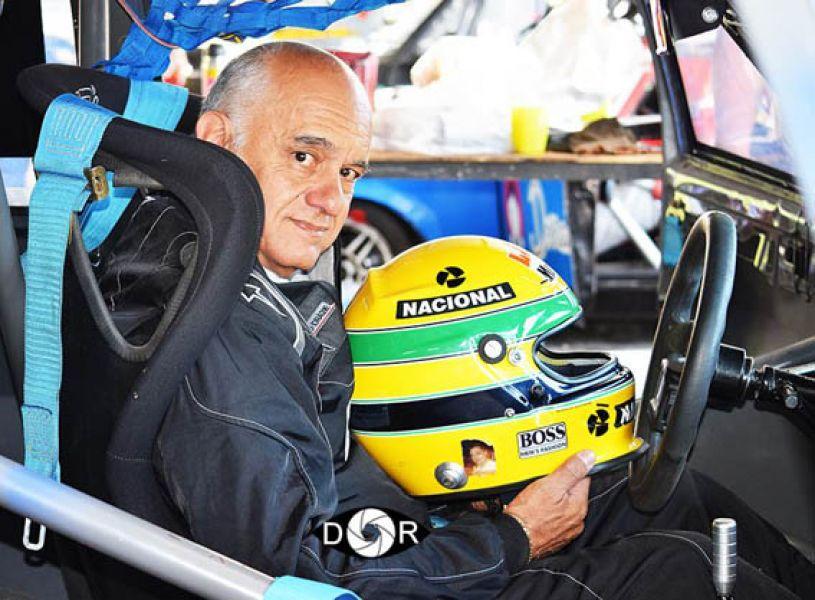Hugo Salem, a punto de salir a pista el domingo. ¿Habrá sido su última competencia?