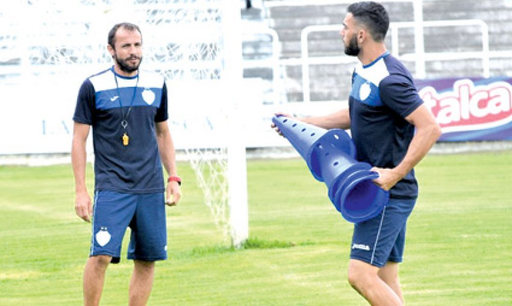 Daniel Ramasco junto a Carlos Castilla, su AC. Foto: GyT oficial.