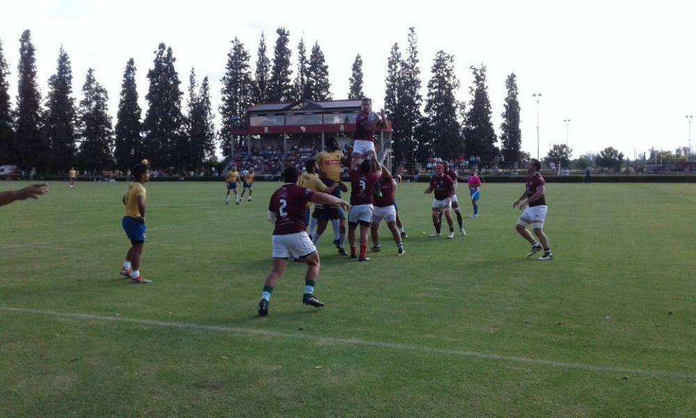 Los Mayuatos y Brasil XV jugaron un entretenido partido en el Jockey Club.