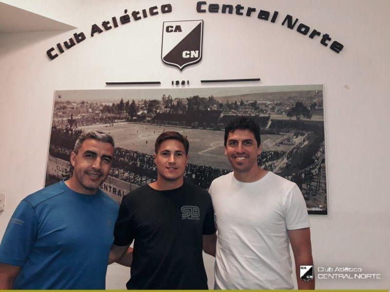 Cuellar, Medrán y Zurita, el nuevo Cuerpo Técnico de Central Norte para el Regional Amateur en 2019.