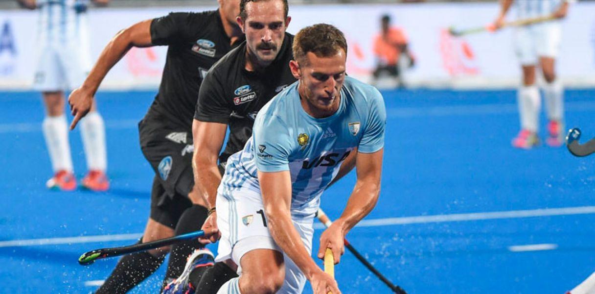 Los Leones, con solo igualar hoy ante Francia, clasificarán a cuartos de final del Mundial de India.